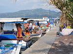 Bootjes aan vissershaven van Skala Kalllonis - Foto van De Griekse Gids