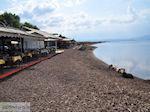 Terrasjes aan het strand van Skala Kallonis - Foto van De Griekse Gids
