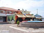Pizzeria Snackbar op het centrale plein van Skala Kallonis - Foto van De Griekse Gids