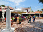 Pittorsk pleintje Skala Eressos - Foto van De Griekse Gids