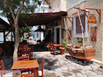 Taverna Soulatso aan het strand van Skala Eressos