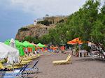 Een bewolkte dag aan het Anaxos strand