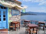 Schitterend terras van restaurant Sansibal in Molyvos - Foto van De Griekse Gids