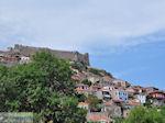Molyvos kasteel op de top van de heuvel - Foto van De Griekse Gids