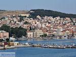 Mytilini gezien vanaf de boot Theofilos foto 2 - Foto van De Griekse Gids