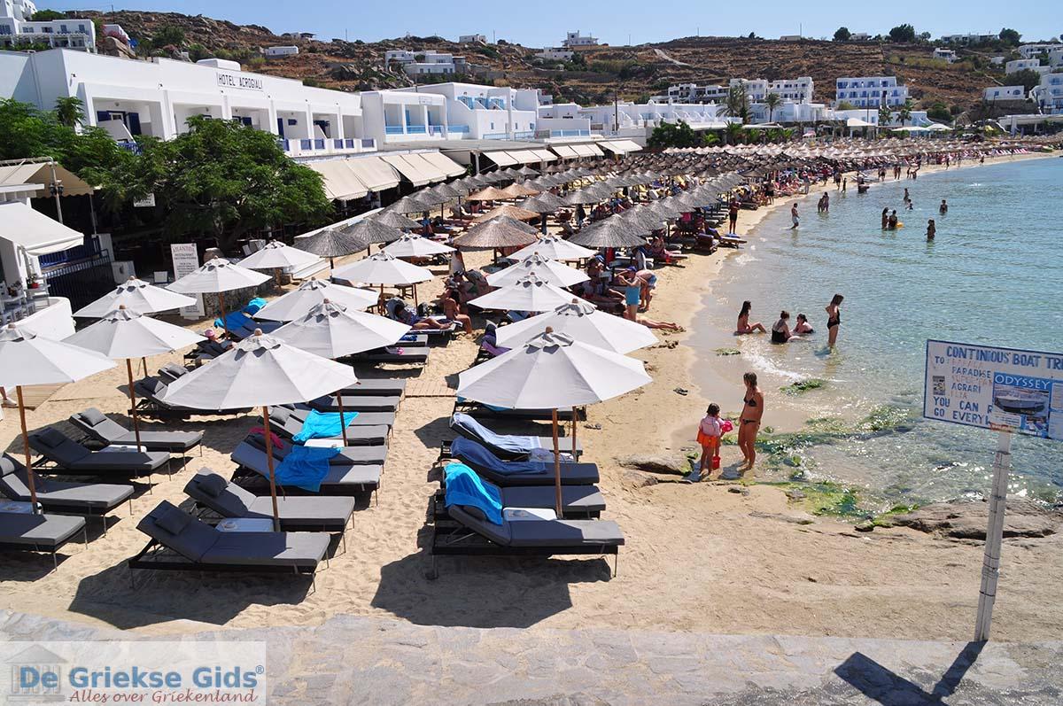 Platis Gialos Mykonos Griekenland De Griekse Gids Foto 5 Van