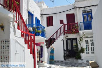 Mykonos stad (Chora) | Griekenland | De Griekse Gids foto 58 - Foto van De Griekse Gids
