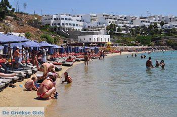 Psarou beach Mykonos | Psarou strand | De Griekse Gids foto 25 - Foto van De Griekse Gids