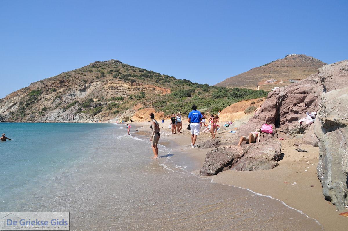 foto Strand Kalogeras bij Molos Paros | Cycladen | Griekenland foto 8