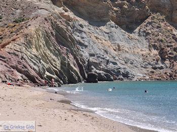 Strand Kalogeras bij Molos Paros  | Cycladen | Griekenland foto 1 - Foto van De Griekse Gids