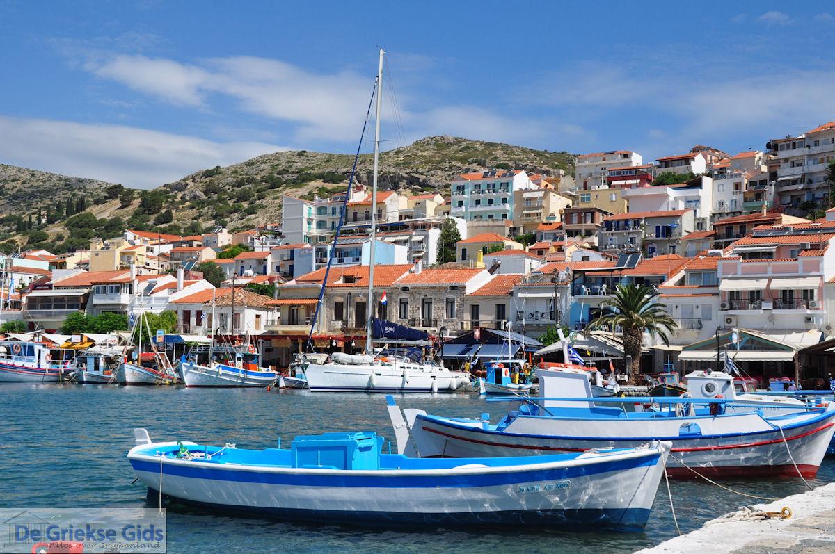 foto Aan de gezellige haven van Pythagorion op Samos foto 7 - Eiland Samos