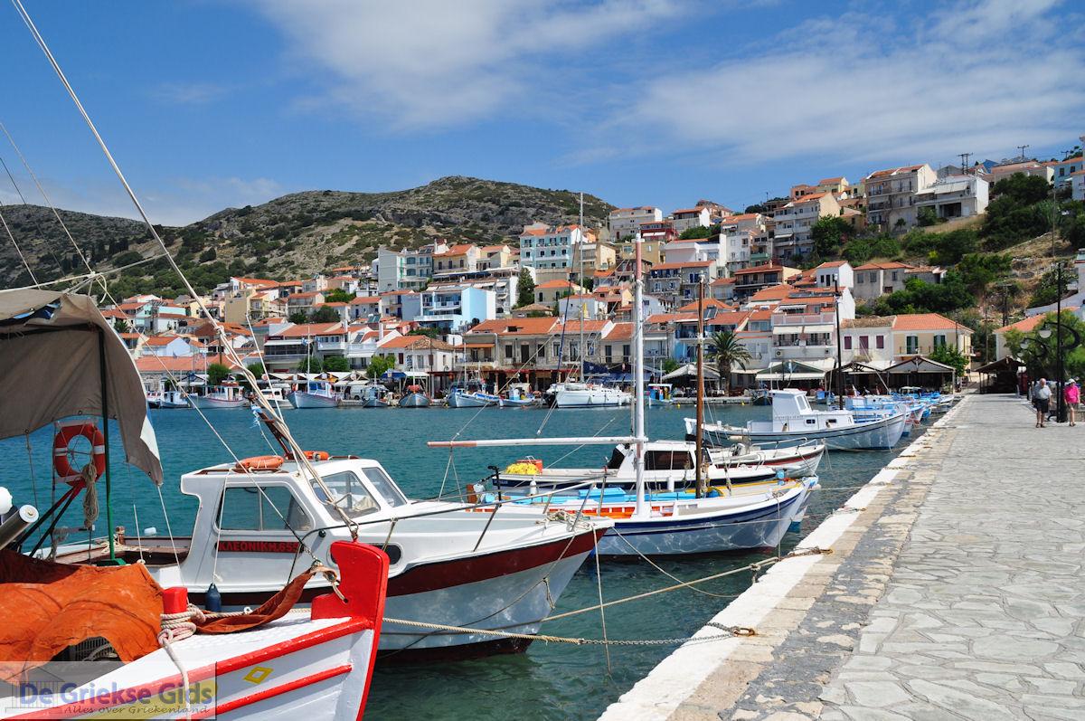 foto Vissersbootjes aan de haven van het schilderachtige Pythagorion - Eiland Samos