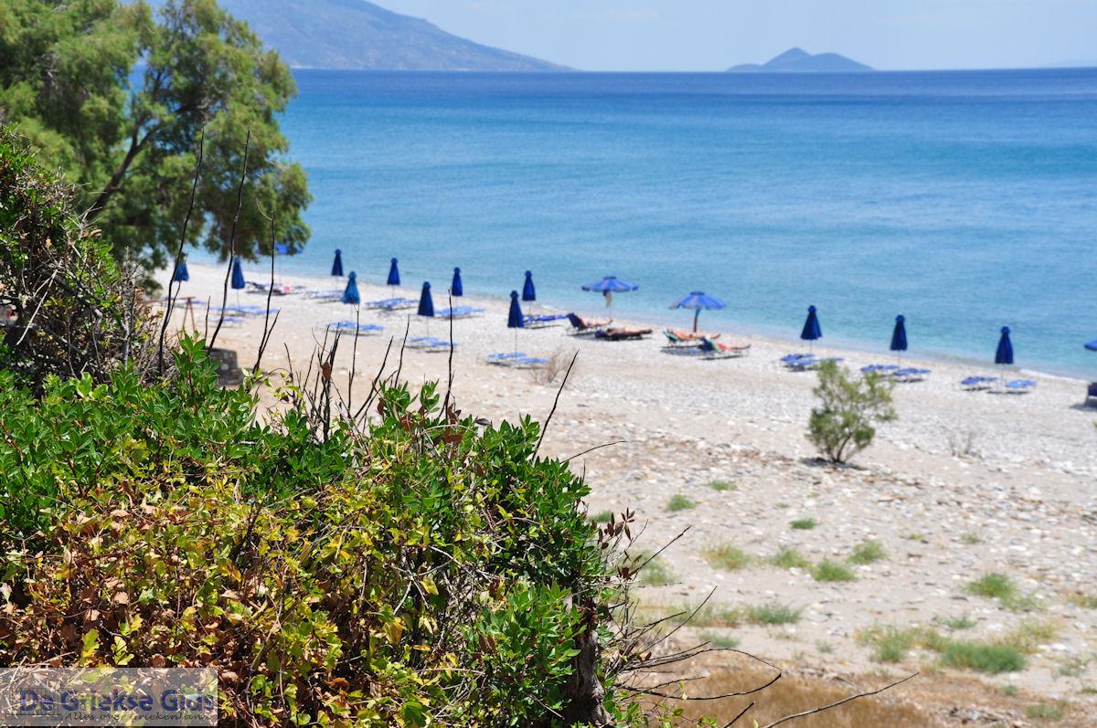 foto Een van de stranden van Kampos (Votsalakia) - Eiland Samos
