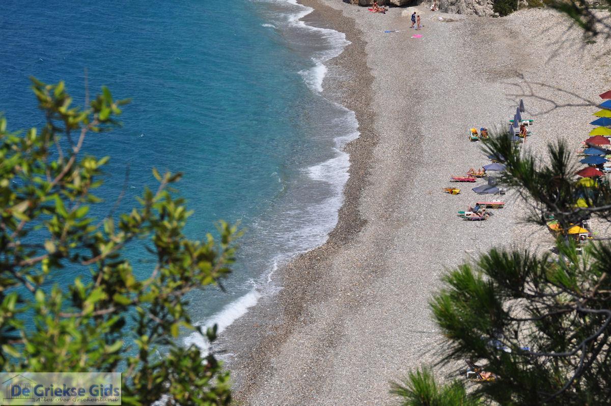 foto Het Strand Tsambou tussen Kokkari en Agios Konstandinos - Eiland Samos