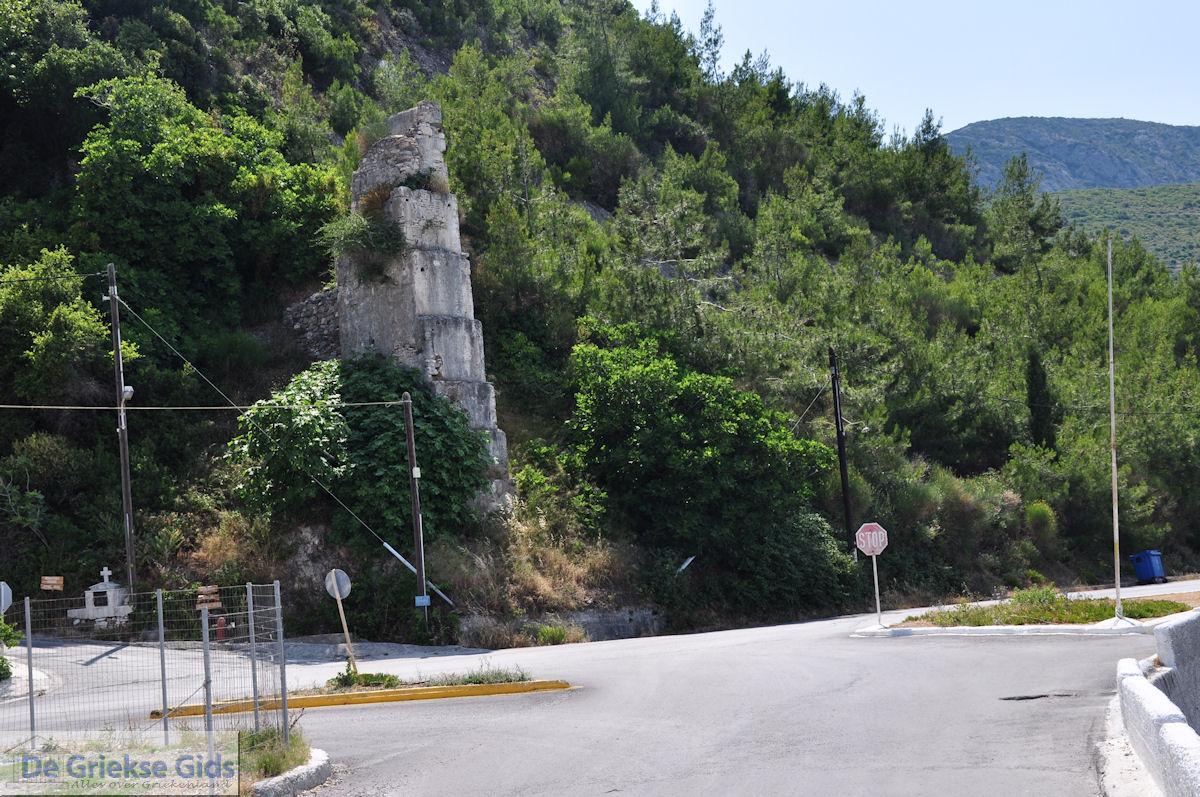 foto Ruine bij het strand van Kokkari - Eiland Samos