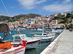 Vissersbootjes aan de haven van het schilderachtige Pythagorion - Eiland Samos - Foto van De Griekse Gids
