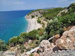 Strand Tsamadou nabij Kokkari - Eiland Samos - Foto van De Griekse Gids