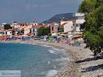 Het kiezelstrand in Kokkari - Eiland Samos - Foto van De Griekse Gids