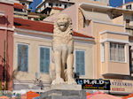 Leeuw Samos stad op het Pythagoras plein - Eiland Samos - Foto van De Griekse Gids