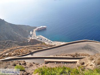 Haven Athinios Santorini (Thira) - Foto 9 - Foto van De Griekse Gids