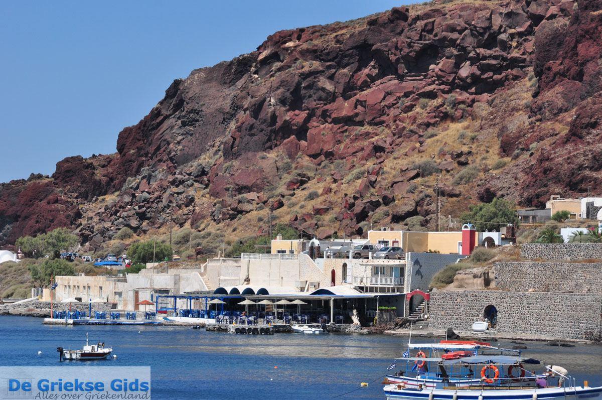 foto Red Beach bij Akrotiri Santorini | Cycladen Griekenland | De Griekse Gids foto 21