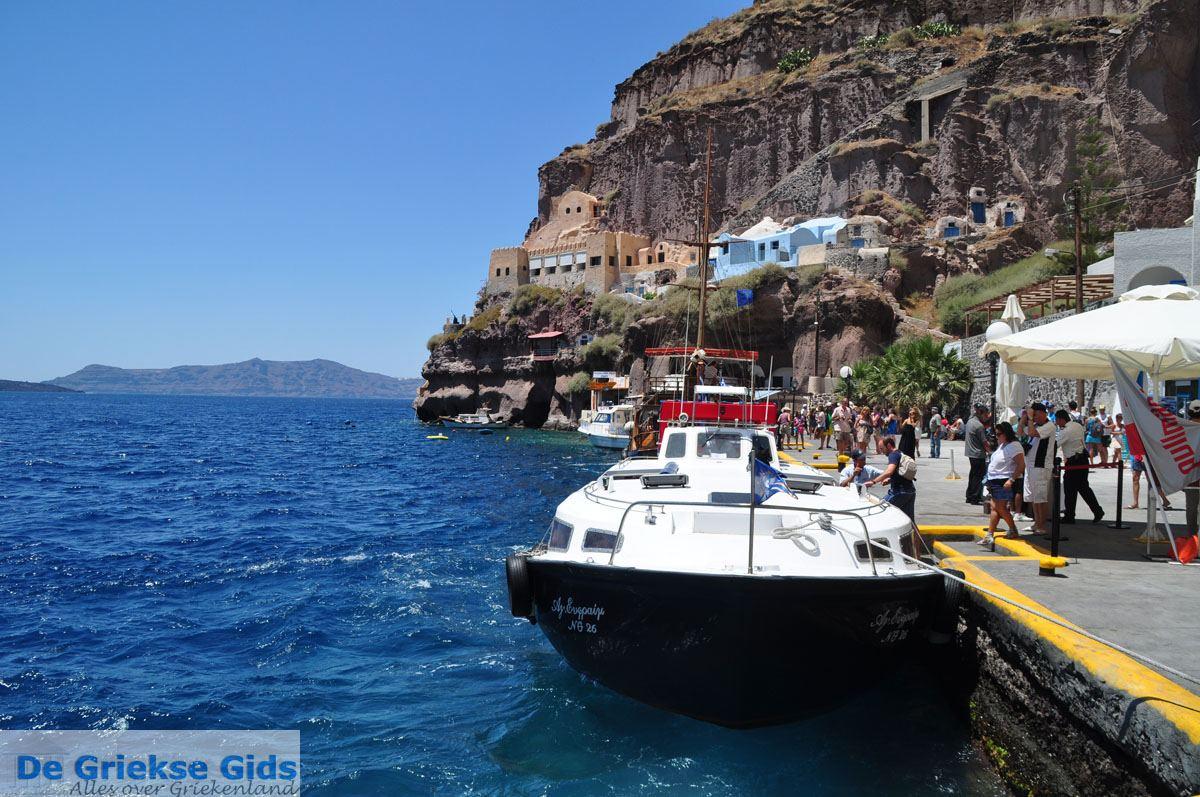 foto Oude haven Fira Santorini | Cycladen Griekenland | De Griekse Gids foto 2