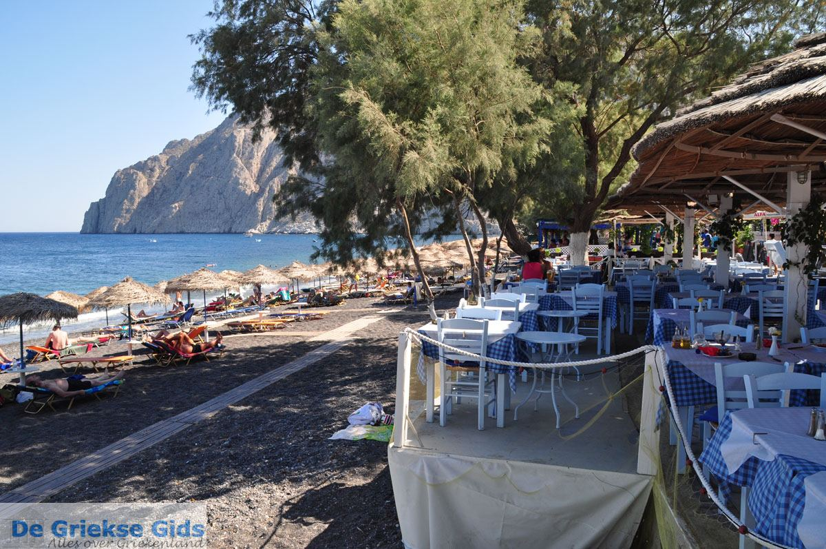 foto Kamari Santorini | Cycladen Griekenland 16