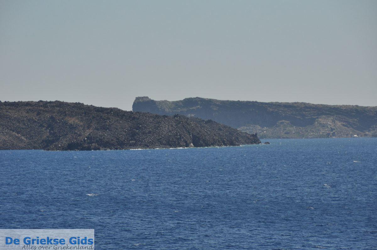 foto De vulkaan van Santorini Nea Kameni | Cycladen Griekenland foto 2