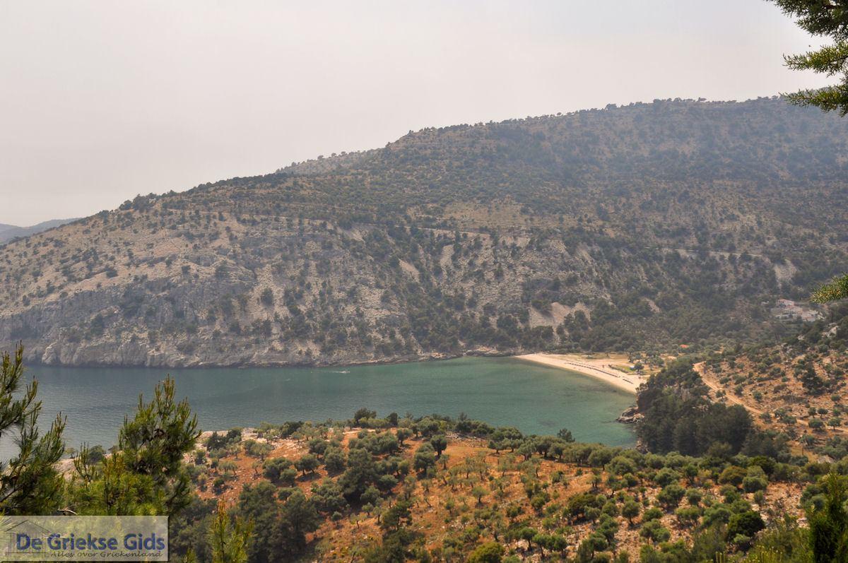 foto Vanaf Alyki naar het klooster Archangelou | Thassos | Foto 1