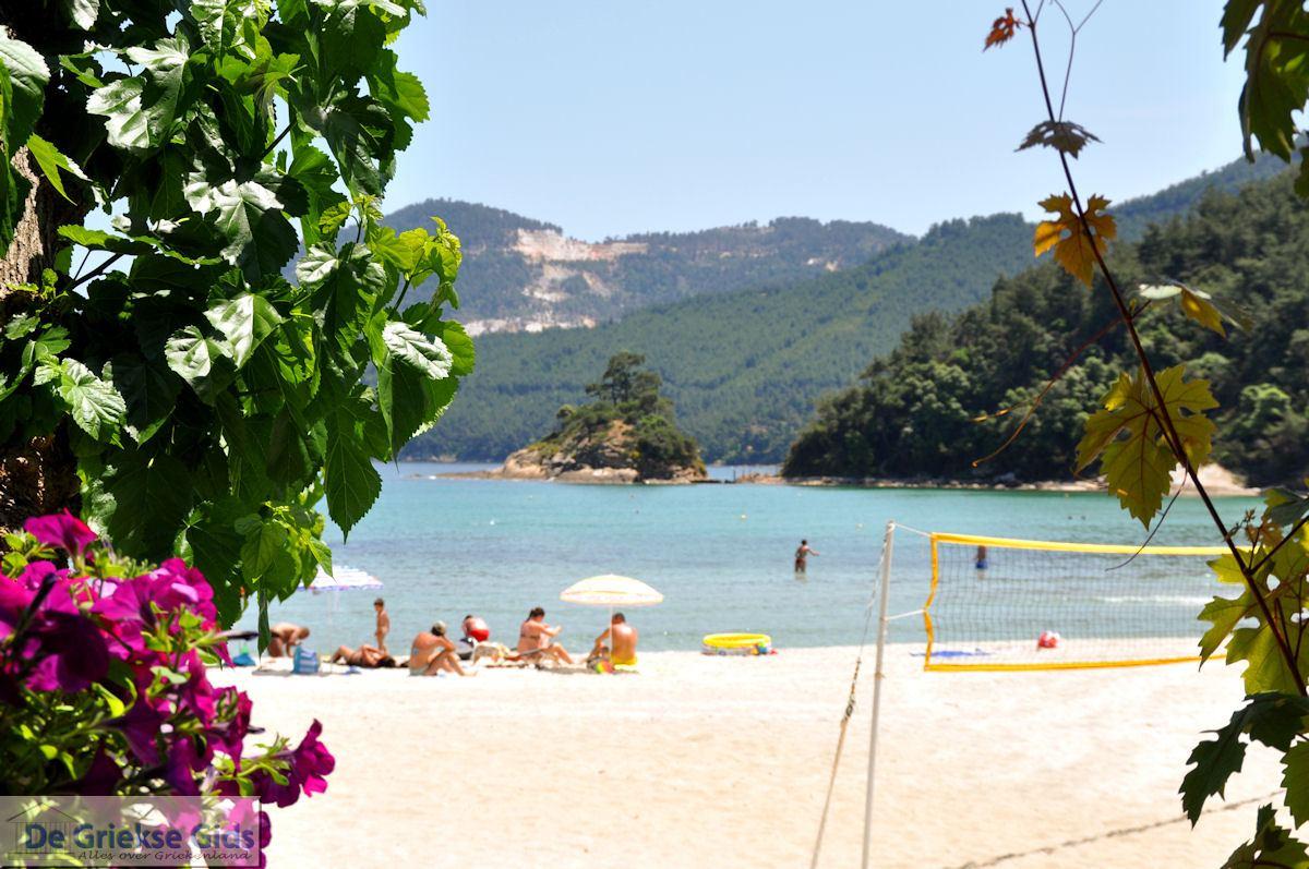 foto Makryammos - Strand bij Limenas (Thassos stad) | Foto 2