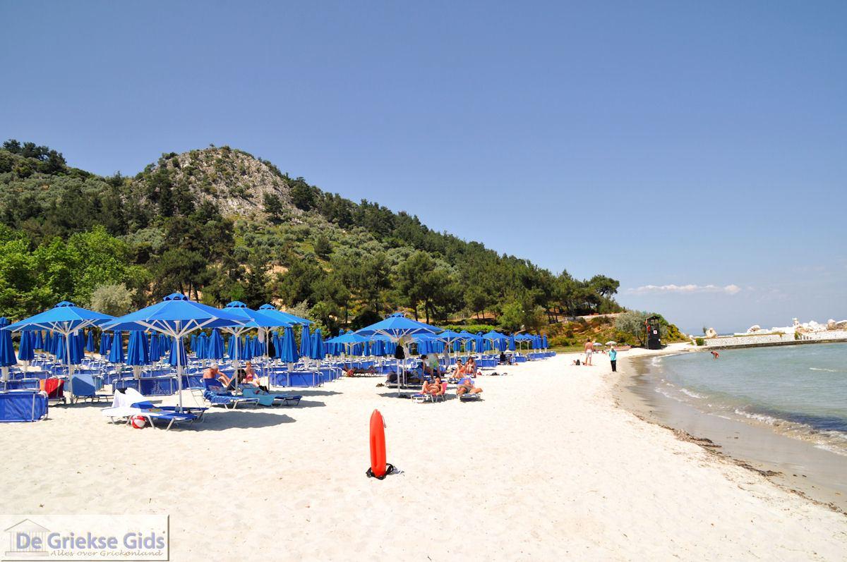 foto Makryammos - Strand bij Limenas (Thassos stad)   Foto 13