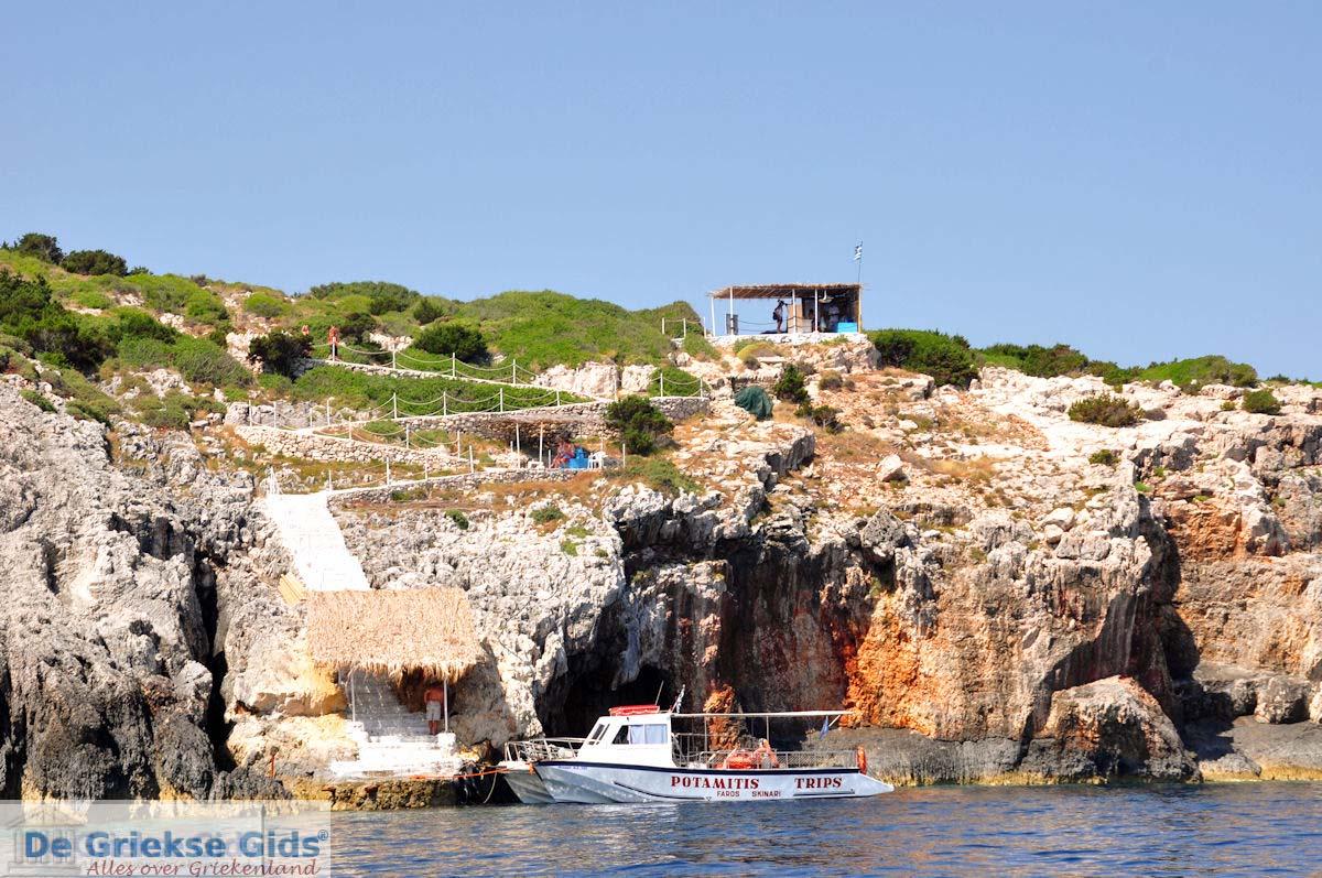 foto Blue Caves - Blauwe grotten | Zakynthos | De Griekse Gids 2