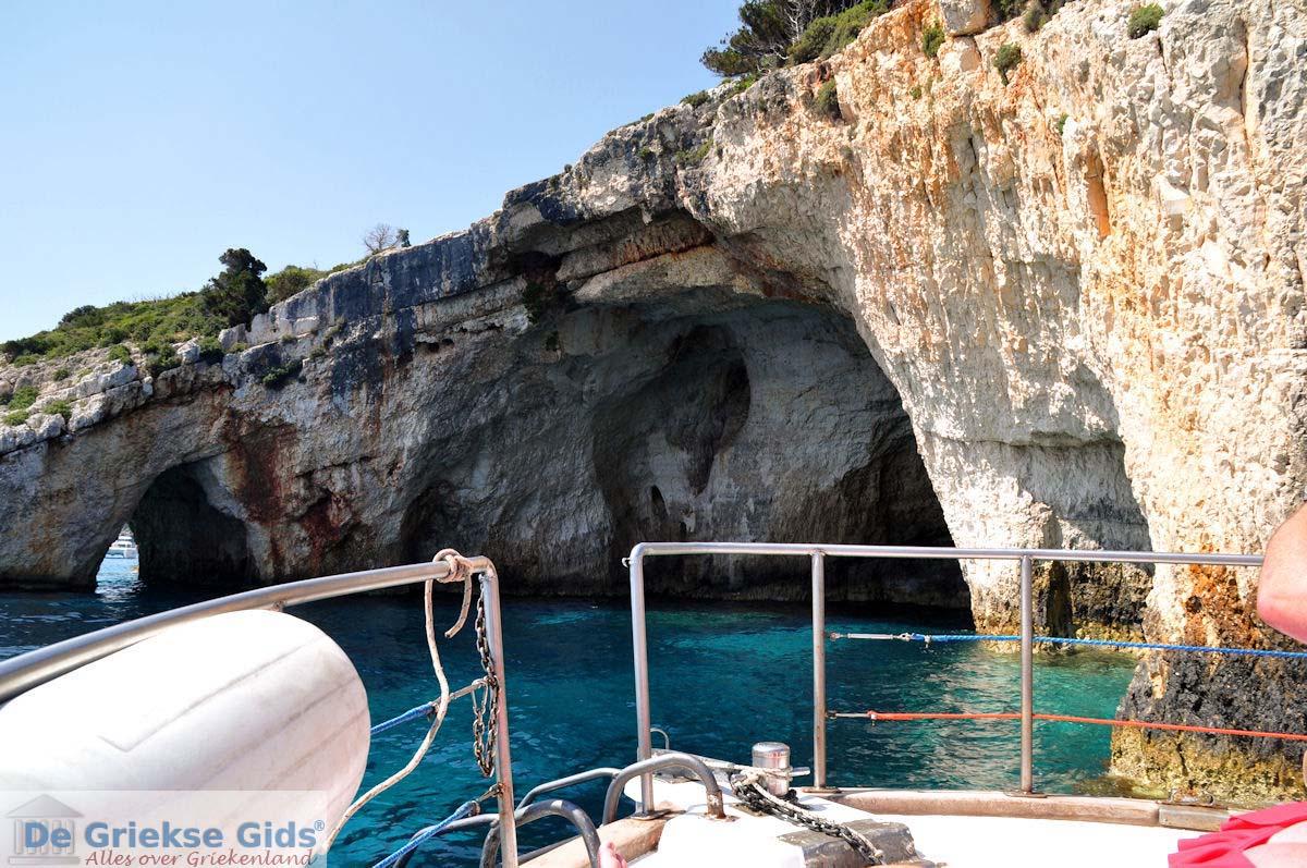 foto Blue Caves - Blauwe grotten | Zakynthos | De Griekse Gids 6