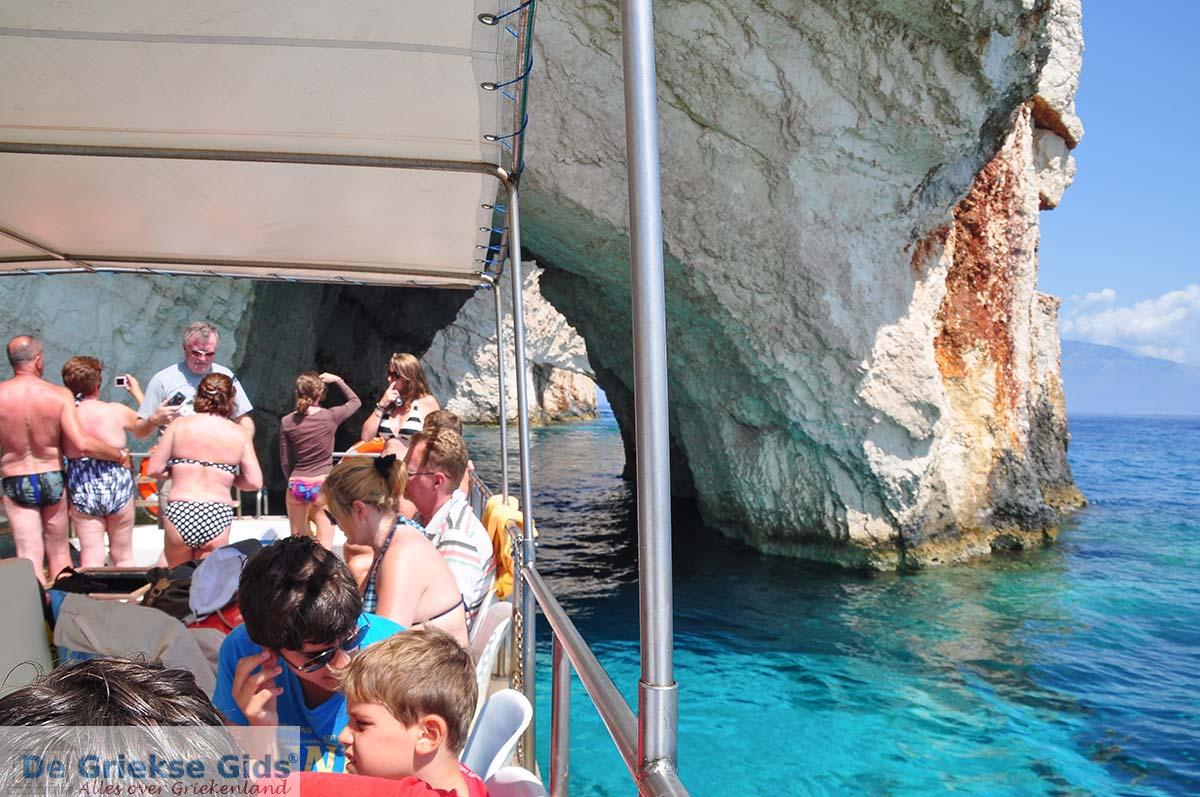 foto Blue Caves - Blauwe grotten | Zakynthos | De Griekse Gids 10