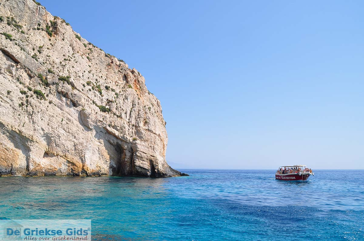 foto Blue Caves - Blauwe grotten | Zakynthos | De Griekse Gids 19