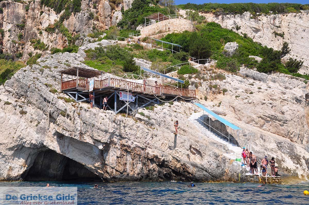 foto Blue Caves - Blauwe grotten | Zakynthos | De Griekse Gids 21
