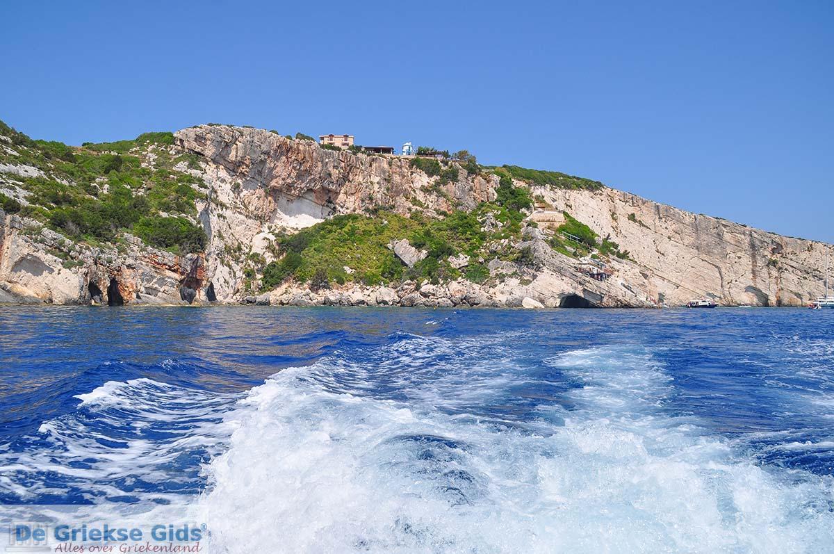 foto Blue Caves - Blauwe grotten | Zakynthos | De Griekse Gids 24