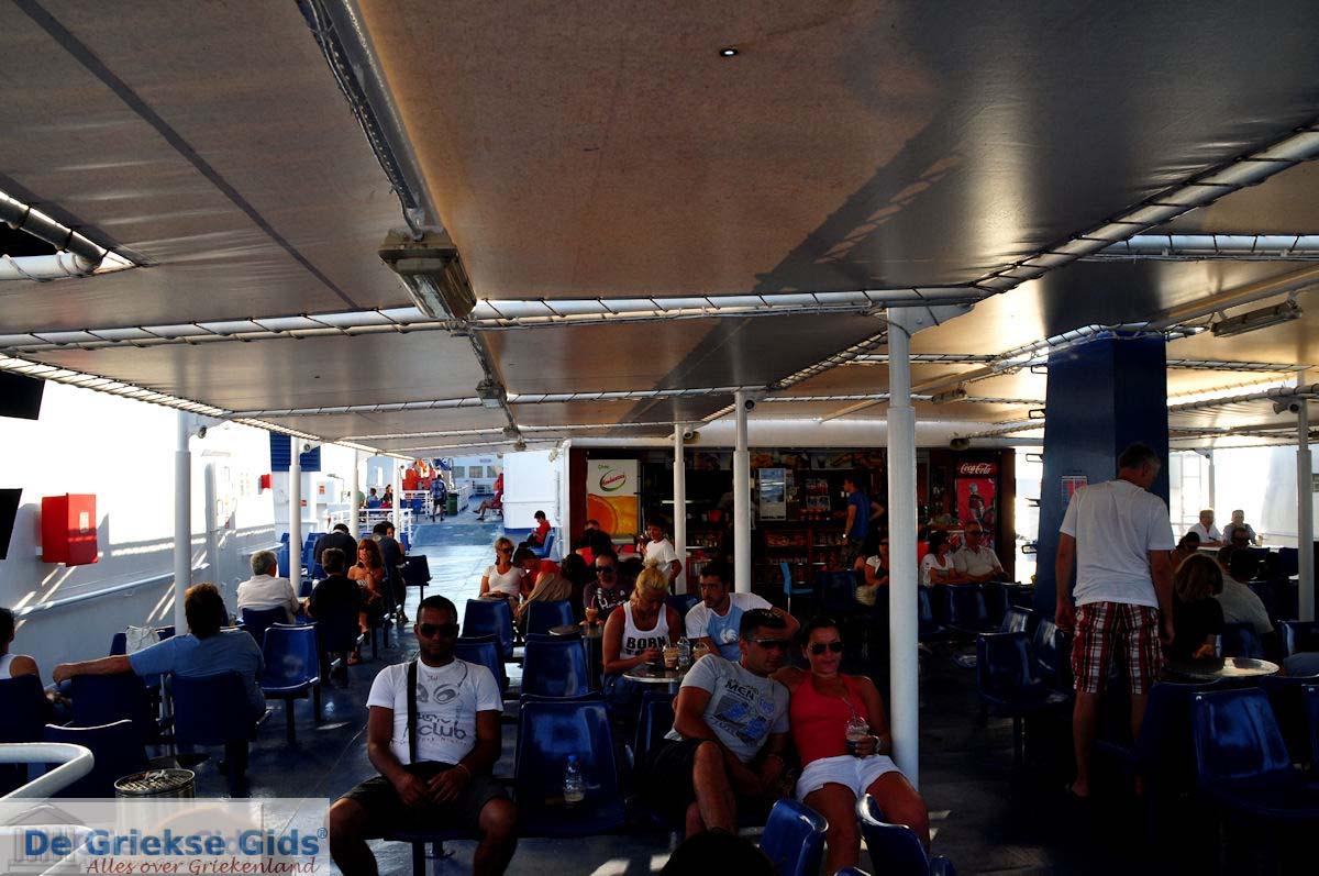 foto Op de boot van Zakynthos naar Kylini | De Griekse Gids nr 2