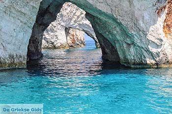 Blue Caves - Blauwe grotten | Zakynthos | De Griekse Gids 18 - Foto van De Griekse Gids