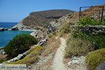Aghios Nikolaos beach bij Angali Folegandros -  Cycladen - Foto 171 - Foto van De Griekse Gids