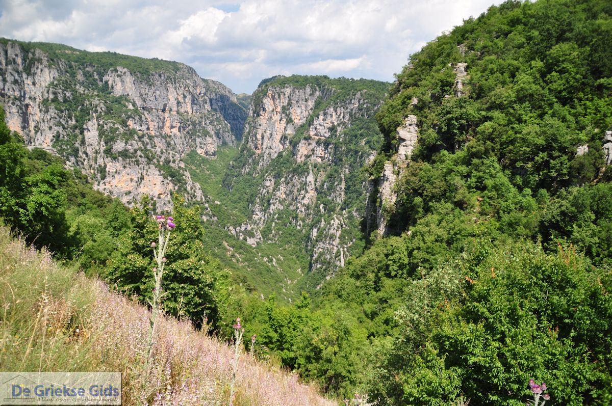 foto Vikos kloof bij Monodendri - Zagori Epirus