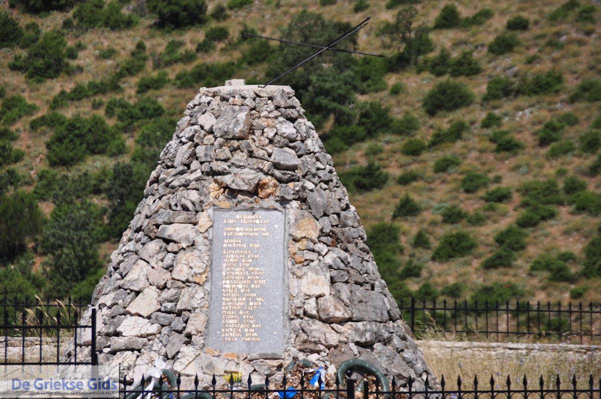 foto Monument onderweg naar Vikos - Zagori Epirus