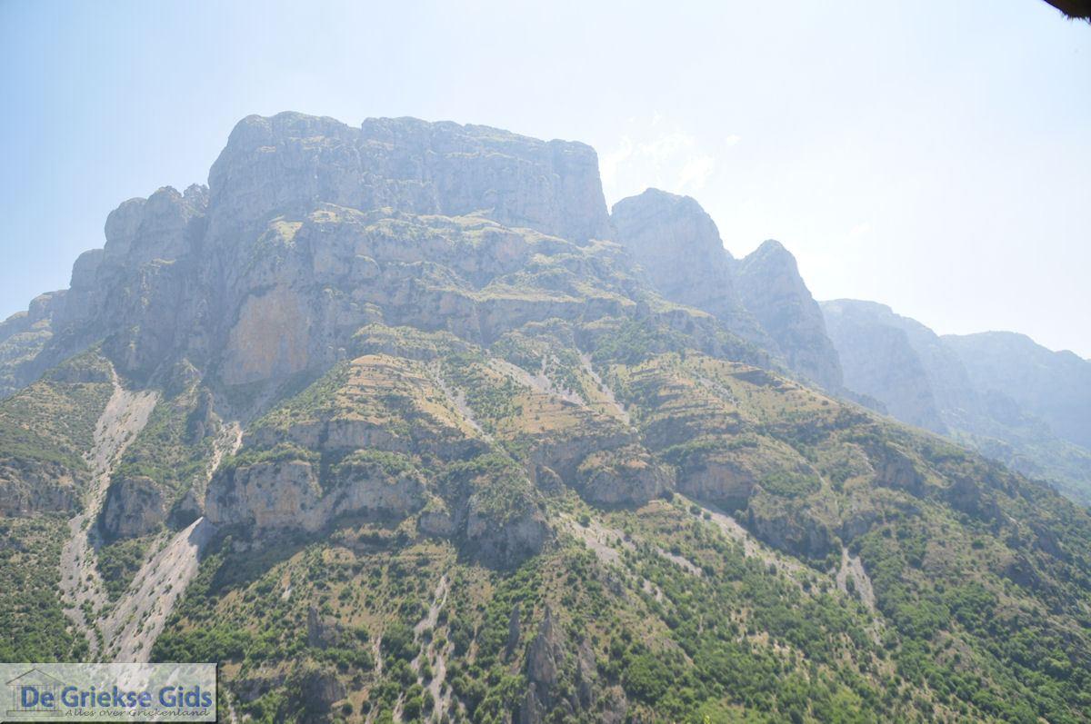 foto Imposante rotsen Vikos kloof - Zagori Epirus