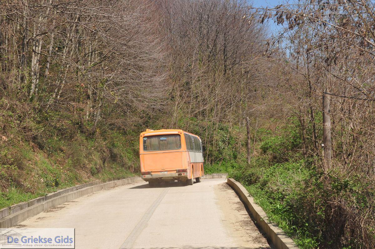 foto Met de bus van Dafni naar Karyes foto 3 | Athos gebied Chalkidiki | Griekenland