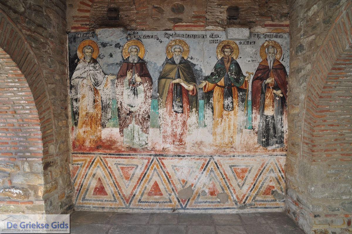 foto Muurschilderingen Protatokerk Karyes Athos foto 1 | Athos gebied Chalkidiki | Griekenland