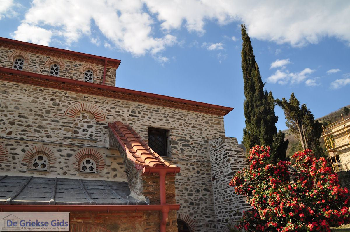foto Protatokerk Karyes Athos | Athos gebied Chalkidiki | Griekenland