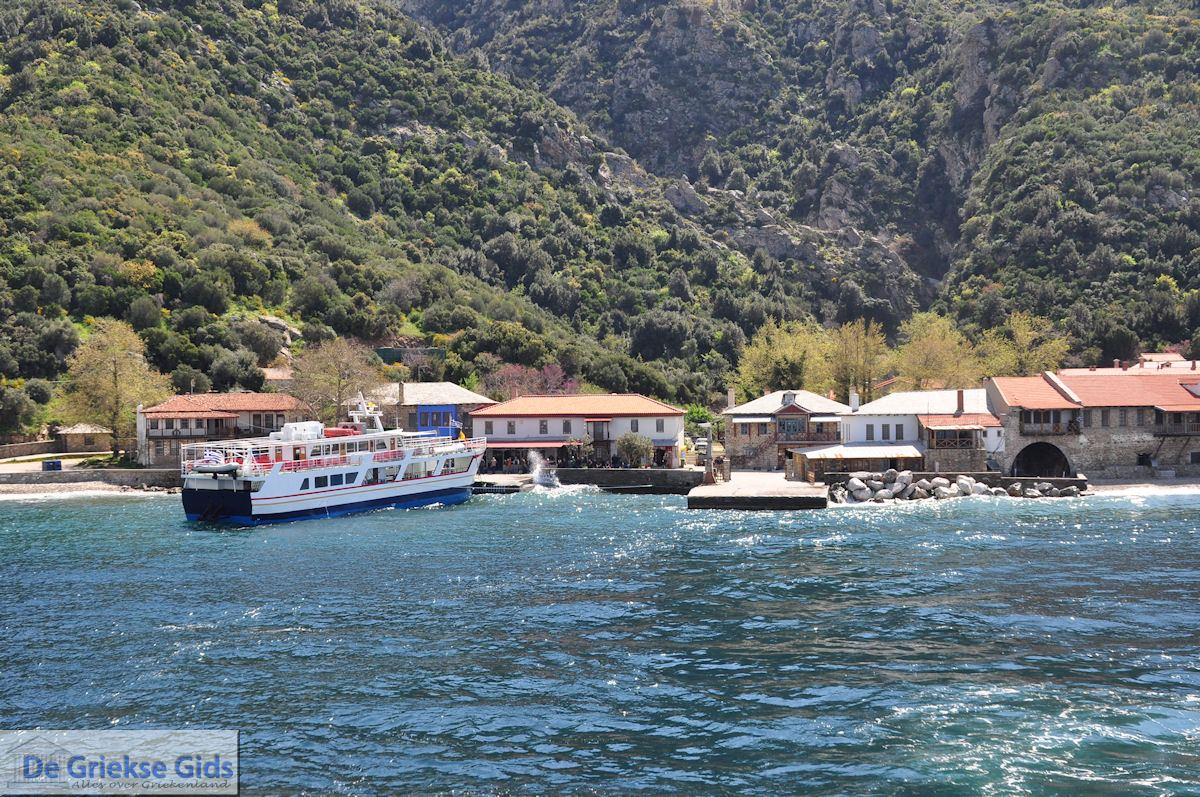 foto Haven Dafni - De Heilige Berg Athos 012 | Athos gebied Chalkidiki | Griekenland
