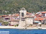 GriechenlandWeb.de Foto van het kasteel van Ouranoupolis | Athos gebied Chalkidiki | Griechenland - Foto GriechenlandWeb.de