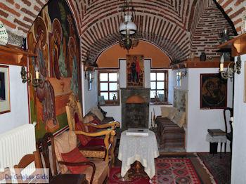 Mylopotamos | Ontvangstkamer voor de geestelijken | Athos gebied Chalkidiki | Griekenland - Foto van De Griekse Gids