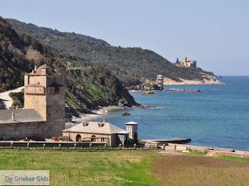 Iviron Klooster Athos foto 4 | Athos gebied Chalkidiki | Griekenland - Foto van De Griekse Gids